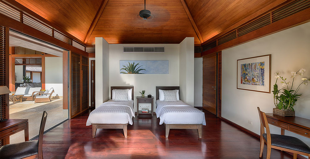 Villa Ananda - Guest twin bedroom