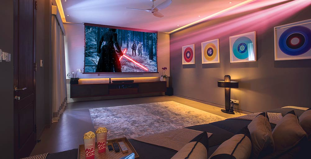 The Arsana Estate - Luxury movie room