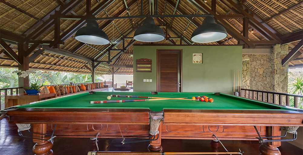 Villa Asta - Billiards table