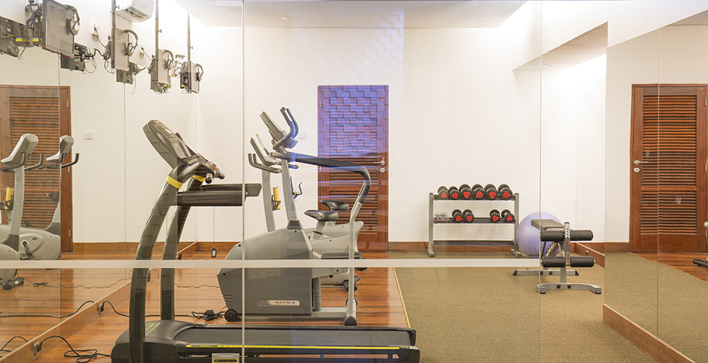 Villa Bayu Gita Beachfront - Gym
