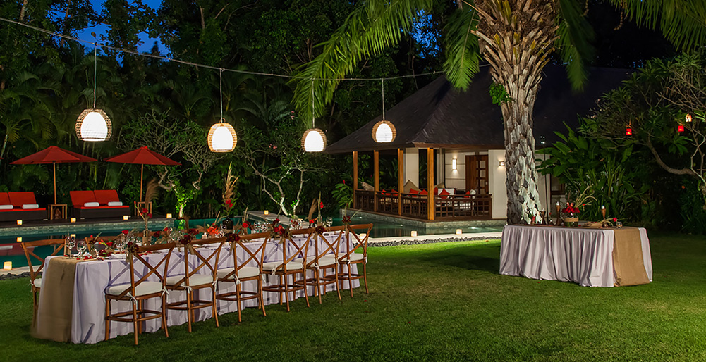 The Beji - Magical garden dinner