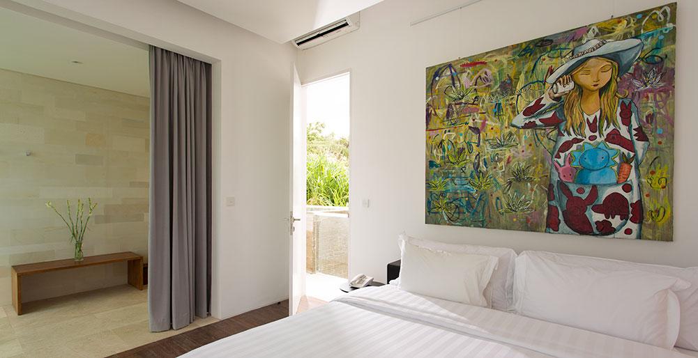 Villa Canggu - Villa South bedroom one