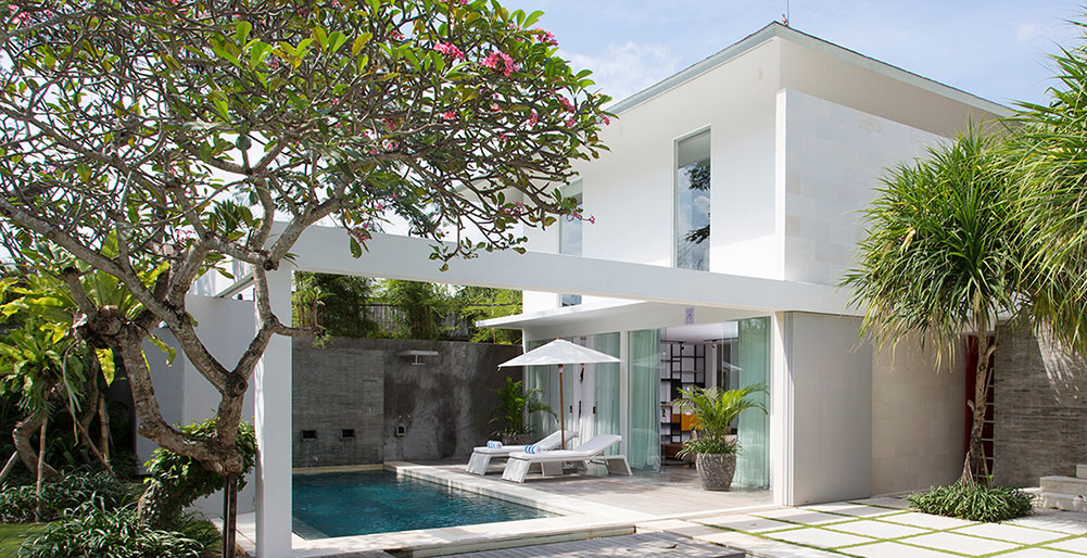 Villa Canggu - North pool and South pool