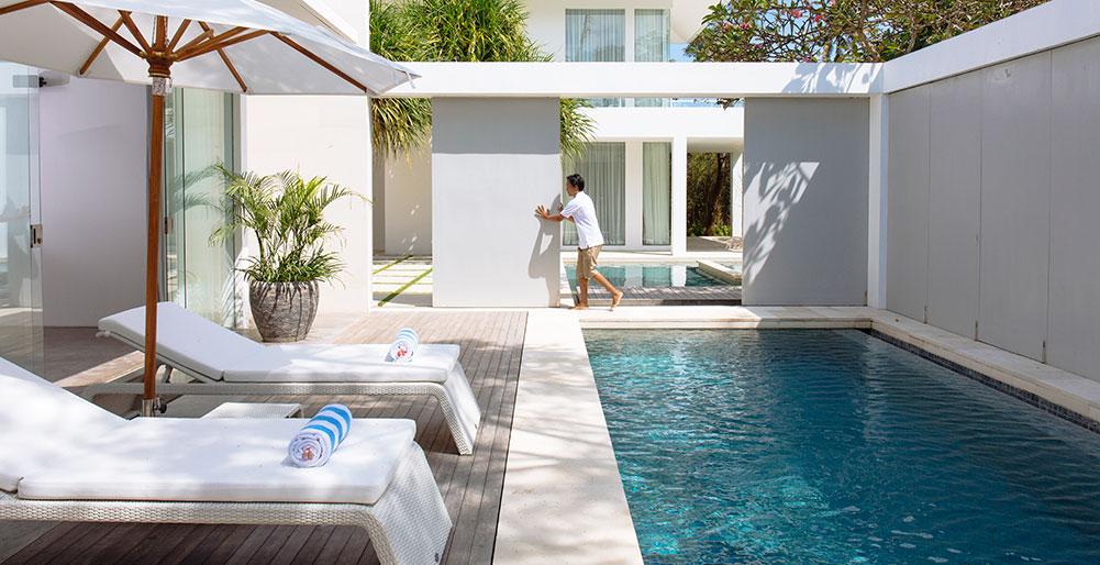Villa Canggu- Opening the villas