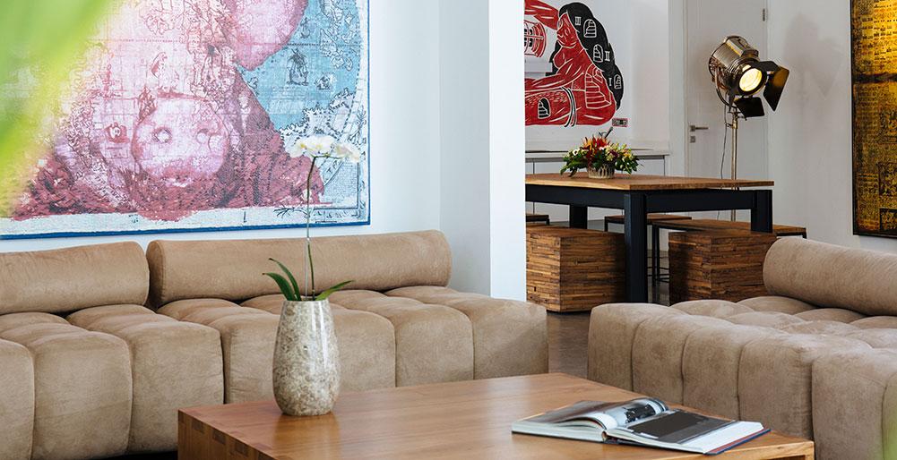 Villa Canggu- Villa North living and dining areas