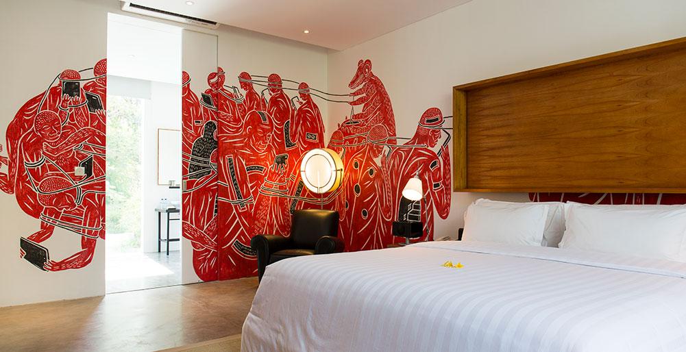 Villa Canggu - Villa North bedroom two