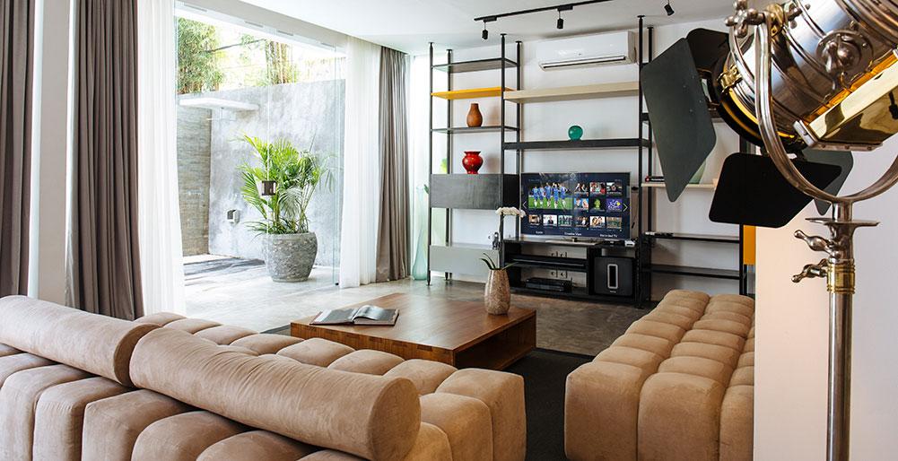 Villa Canggu - Villa North living area