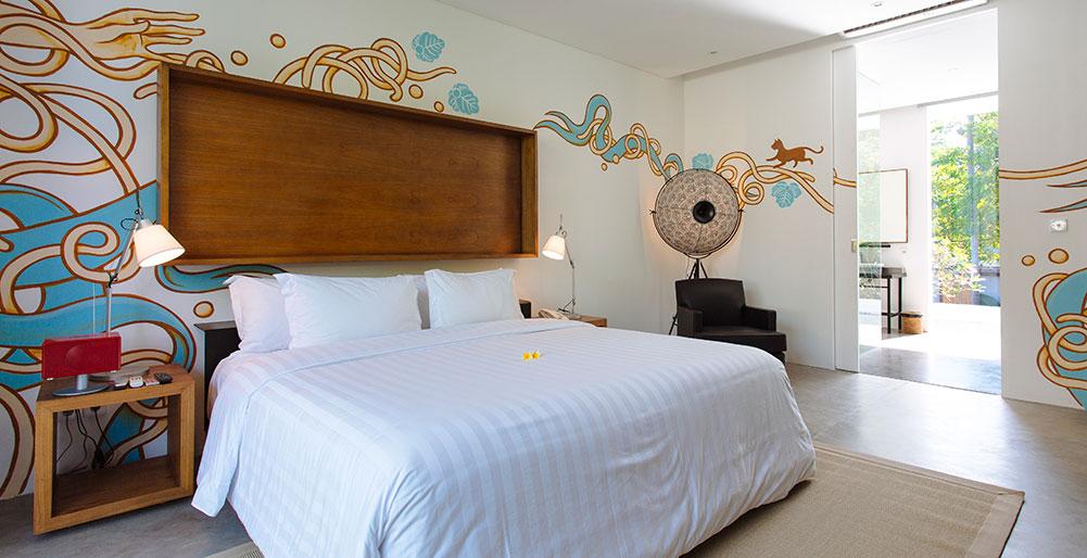 Villa Canggu - Villa North bedroom one