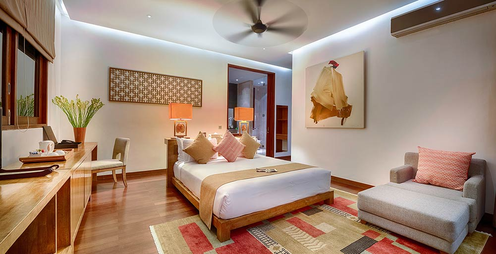 Casa Brio Master Bedroom 1 Night Light Seminyak Villa Images Elite Havens