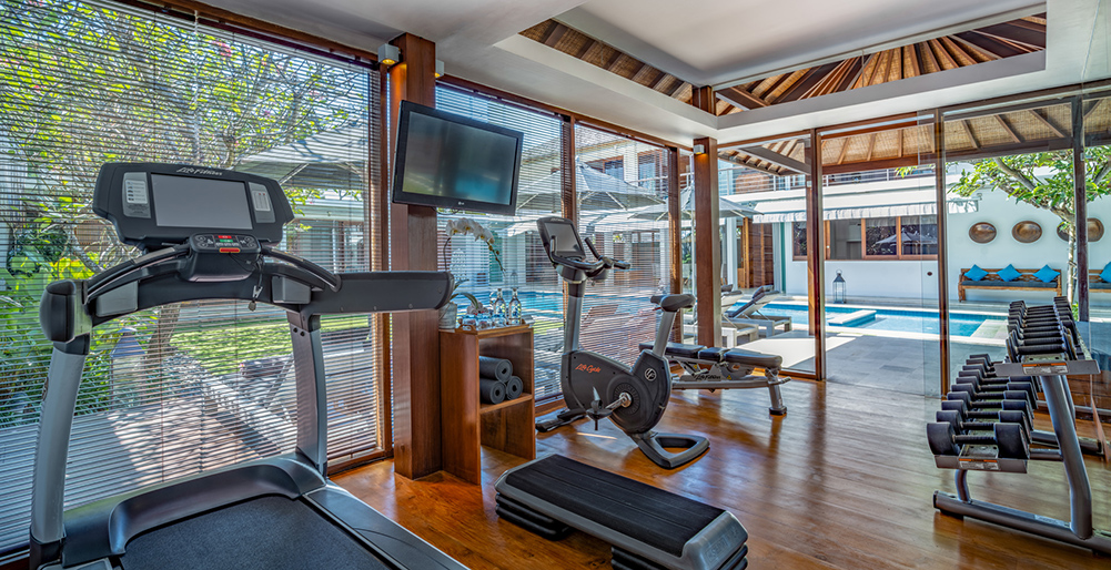 Villa Cendrawasih - Equipped gym