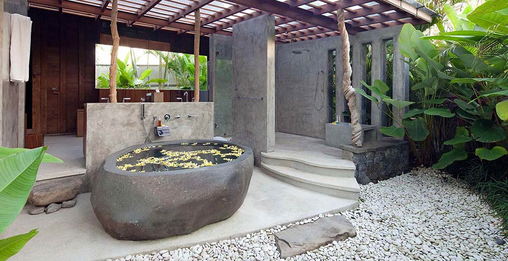 Villa Radha - Ensuite bathroom