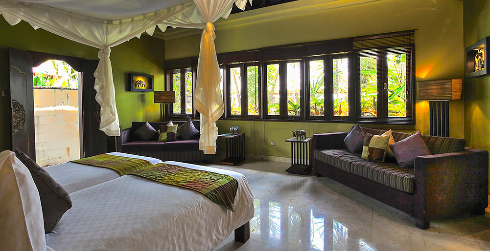 Indah Manis - Jempiring bedroom view