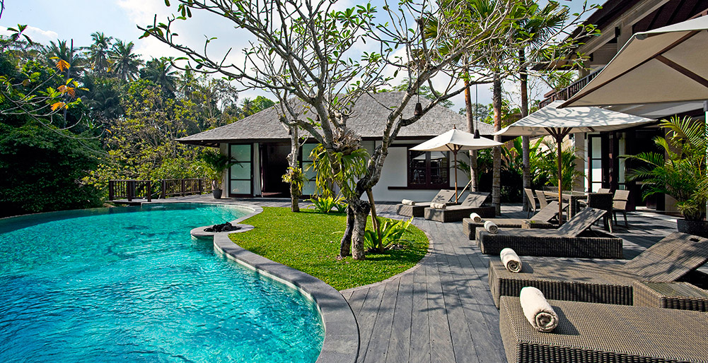 Villa Iskandar - Pool deck