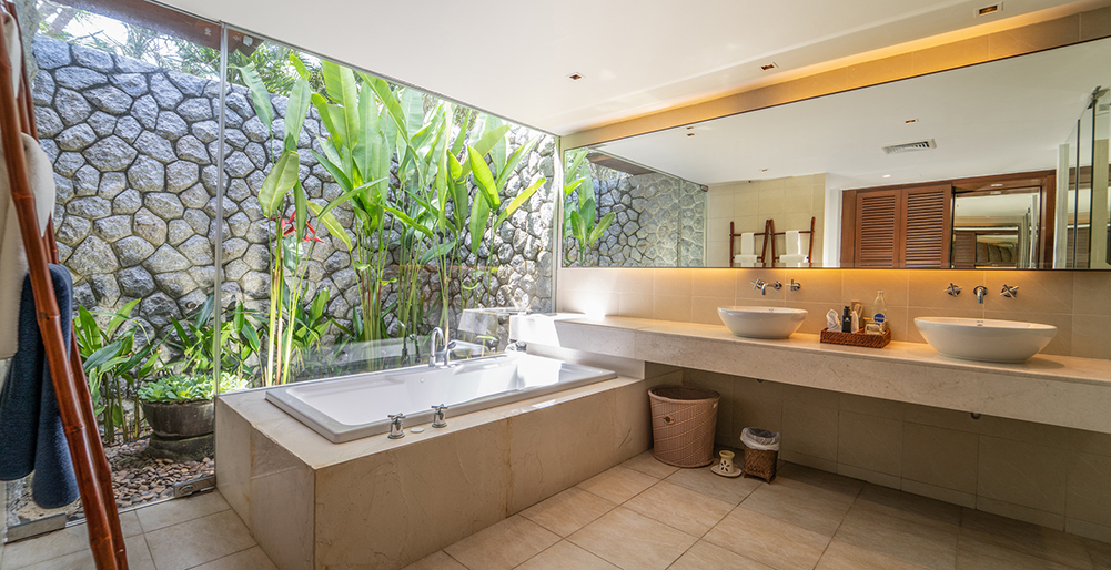 Villa Jia - Indoor bath with tub