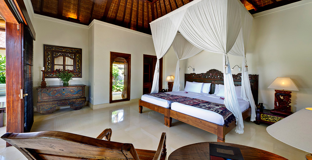 Villa Kedidi - Guest bedroom 2 (twin)