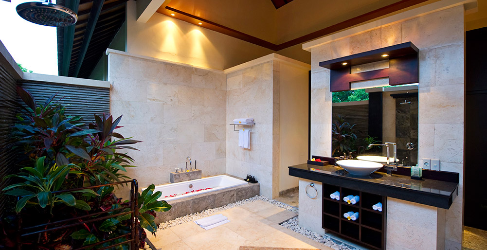 Villa Lega - Master bathroom