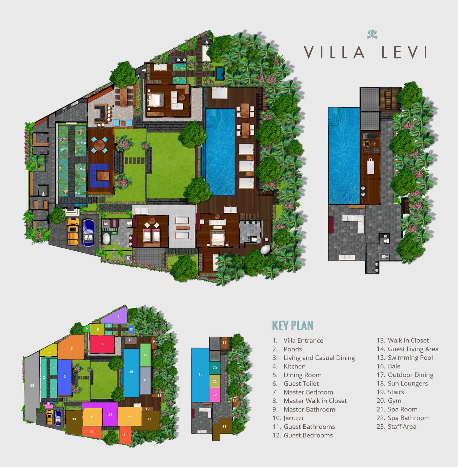 Villa Levi Canggu Bali Indonesia Elite Havens