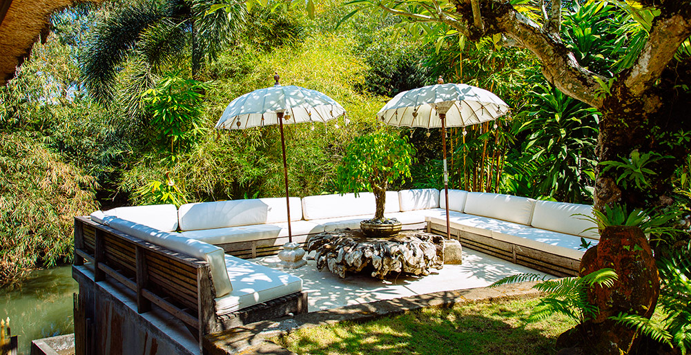 Villa Maya Retreat - Garden living area