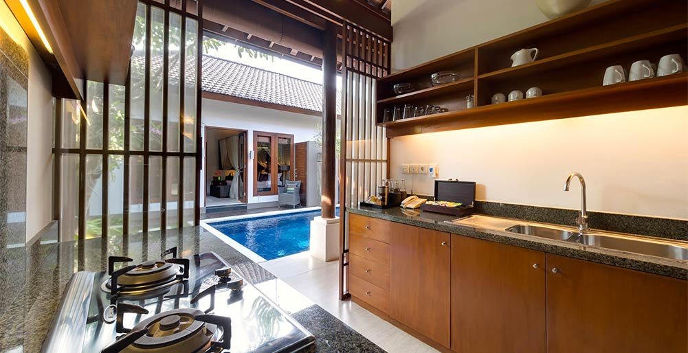Lakshmi Villas - Kawi - Kitchen