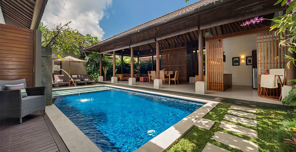 Lakshmi Villas - Kawi - Pool side