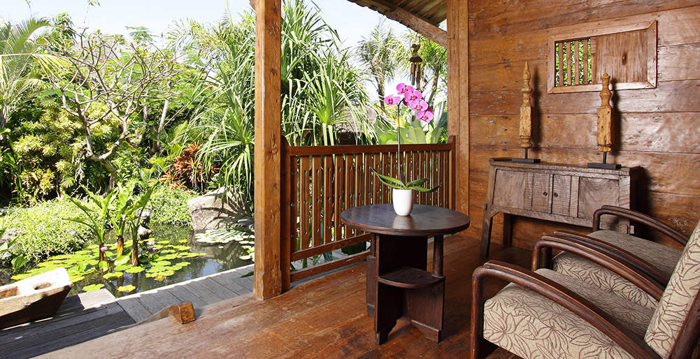 Dea Villas - Villa Radha - Porch seating