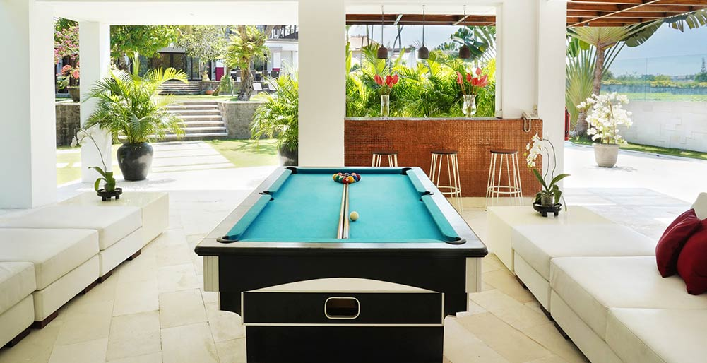 Villa Manis - Pool table