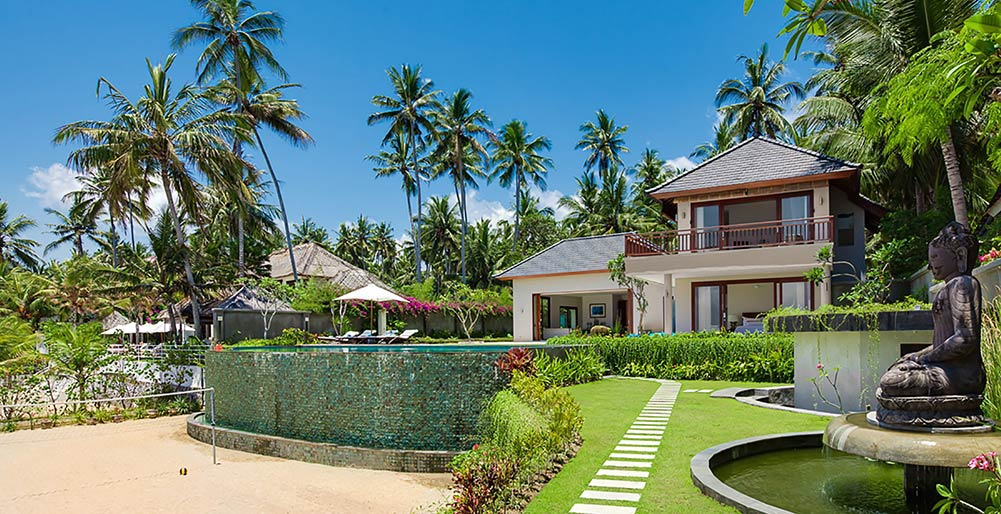 Villa Tirta Nila - View from oceanside