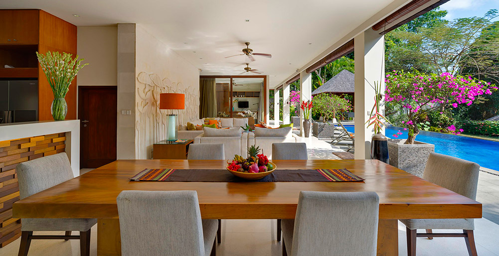 Villa Shinta Dewi Ubud - Dining and entertaining spaces