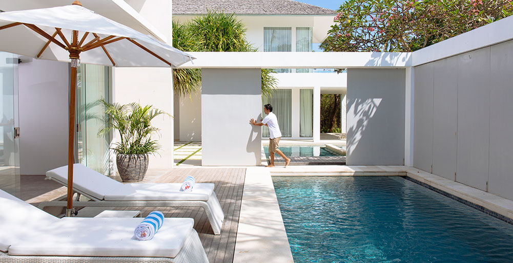 Villa Canggu - Opening the villas