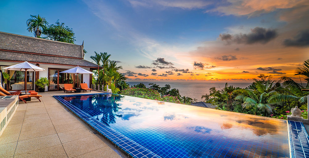Villa Baan Bon Khao - Stunning view from the pool
