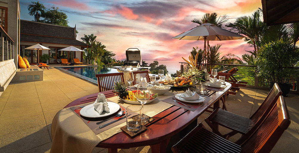 Villa Baan Bon Khao - The ultimate dining experience
