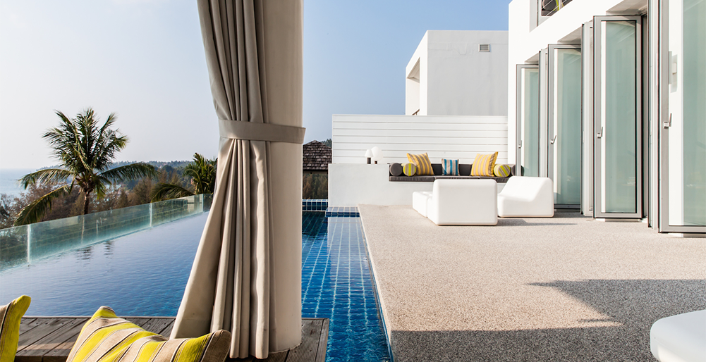 Villa Sammasan - Poolside relaxations spaces