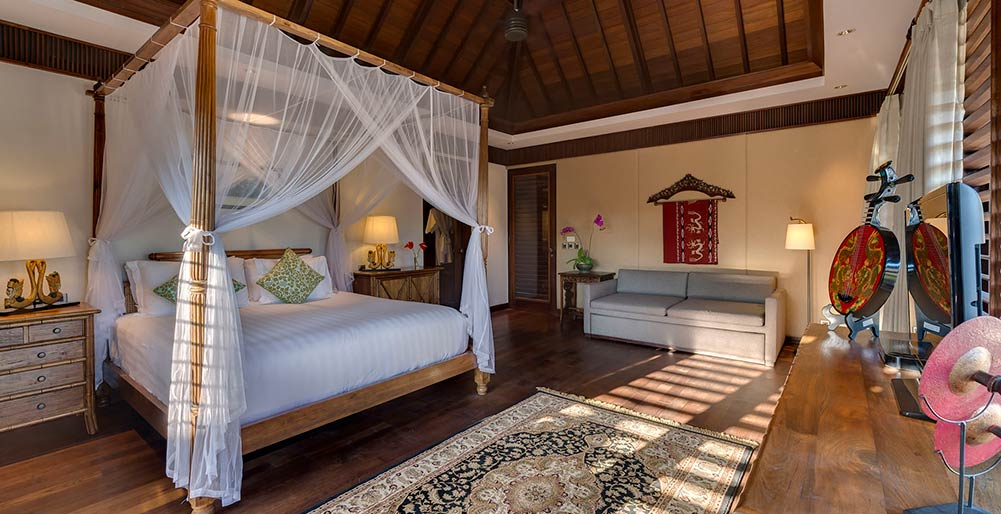 Des Indes II - Guest bedroom layout