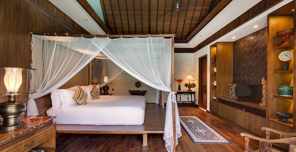 Des Indes II - Master bedroom layout, Seminyak Villa Images - Elite ...