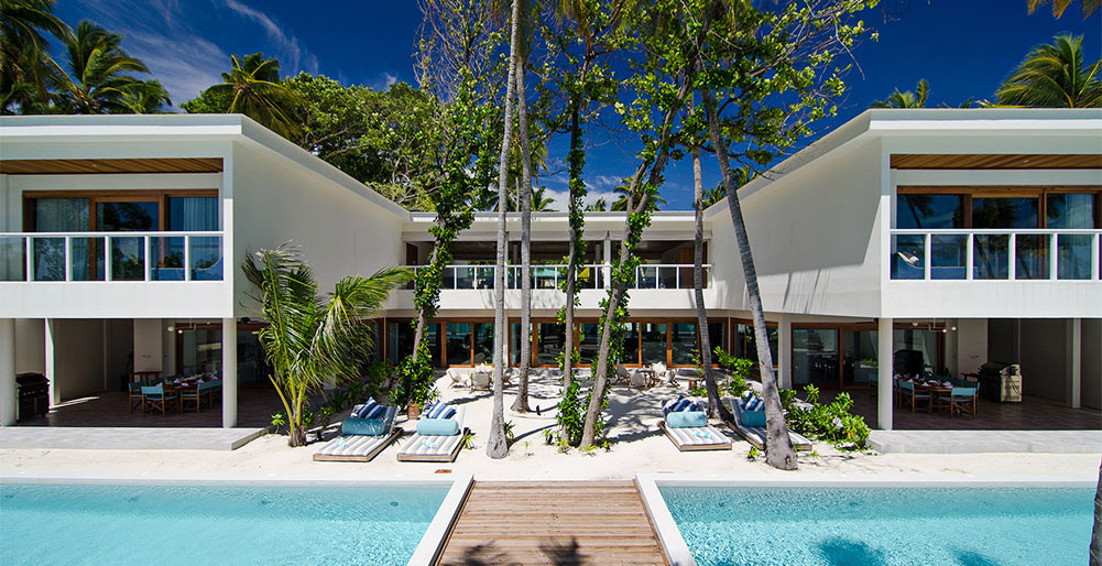 The Great Beach Villa Residence - Modern edge