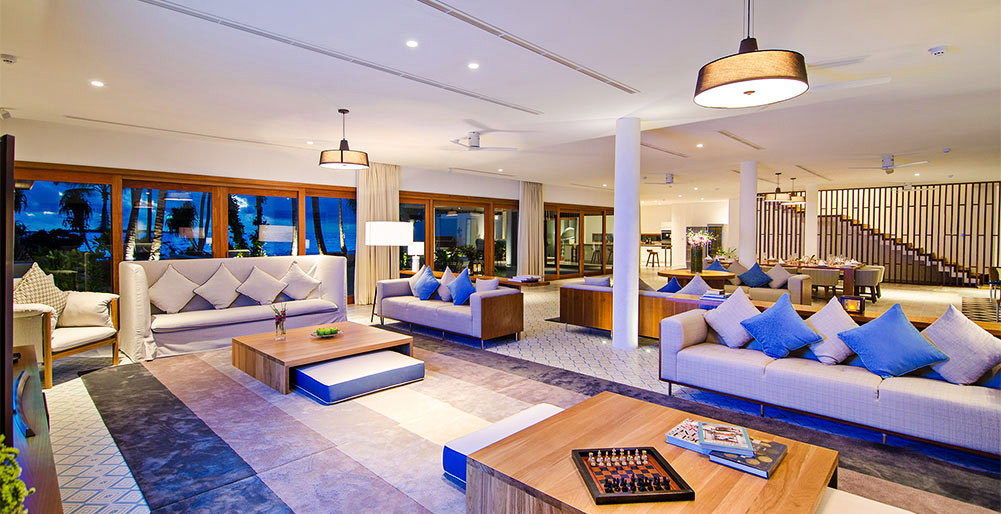 The Great Beach Villa Residence - Luxurious living spaces