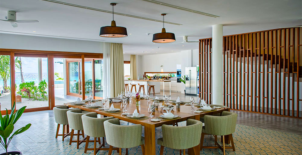 The Great Beach Villa Residence - Dining style