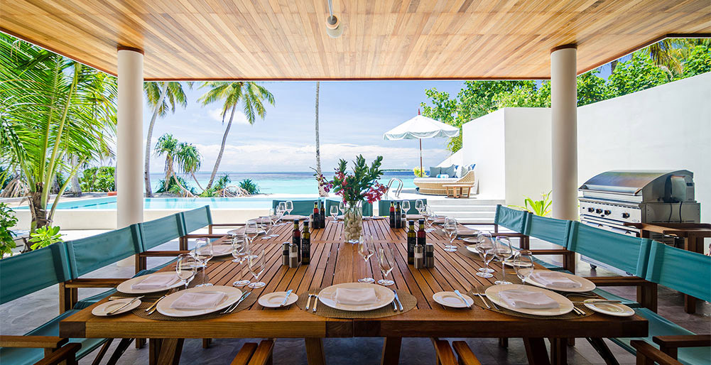 The Great Beach Villa Residence - The ultimate dining setting