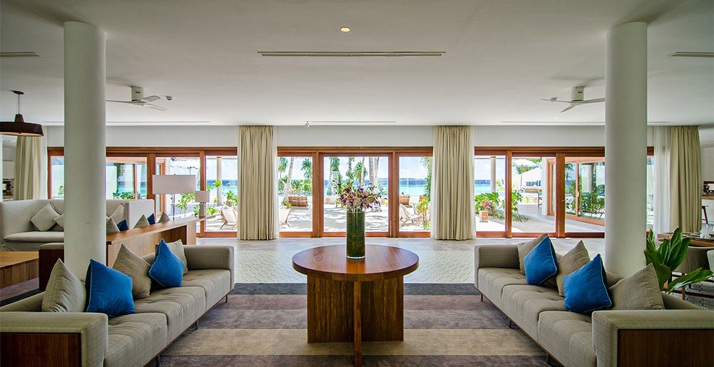The Great Beach Villa Residence - Living area