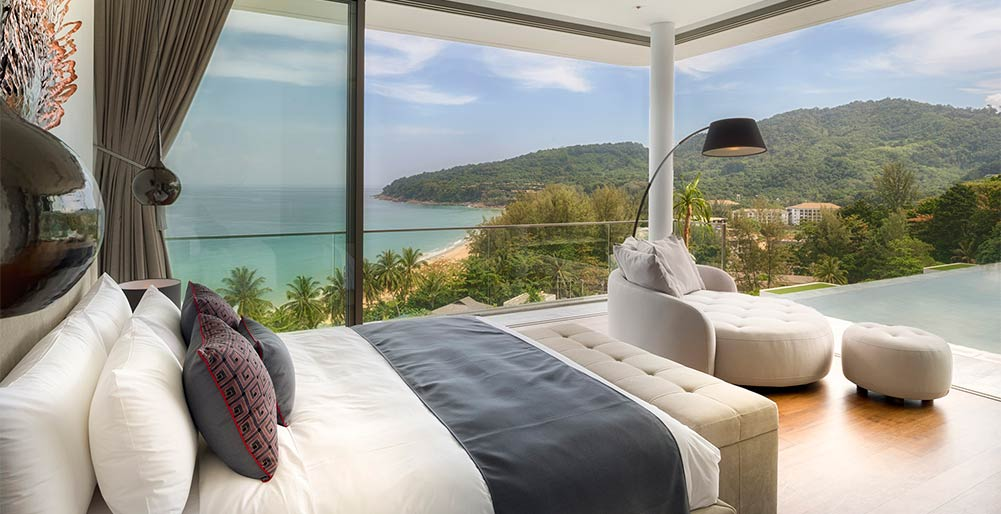 Malaiwana Penthouse - Bedroom outlook