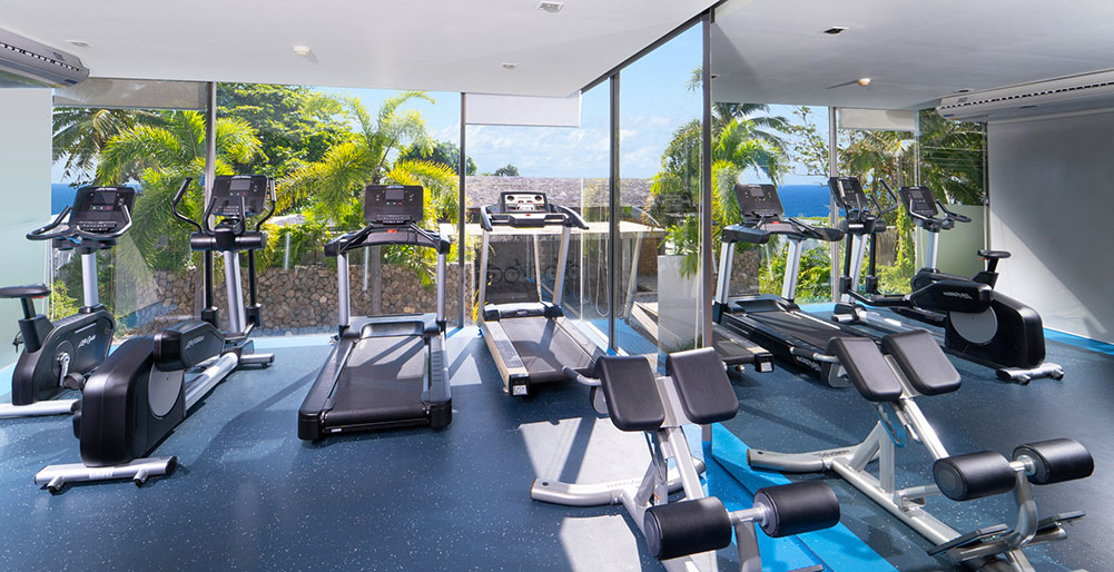 Sava Beach Villas - Gym equipments