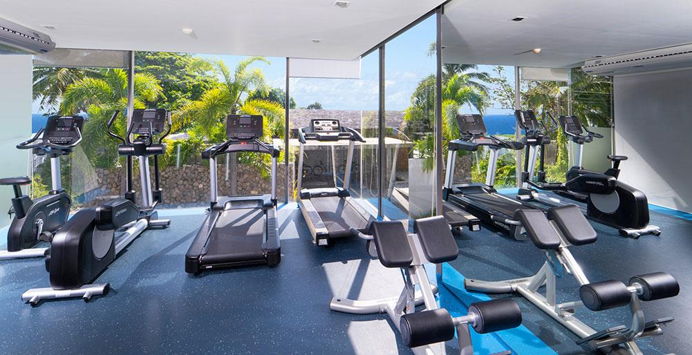 Sava Beach Villas - Gym equipments, Natai Beach Villa Images - Elite Havens