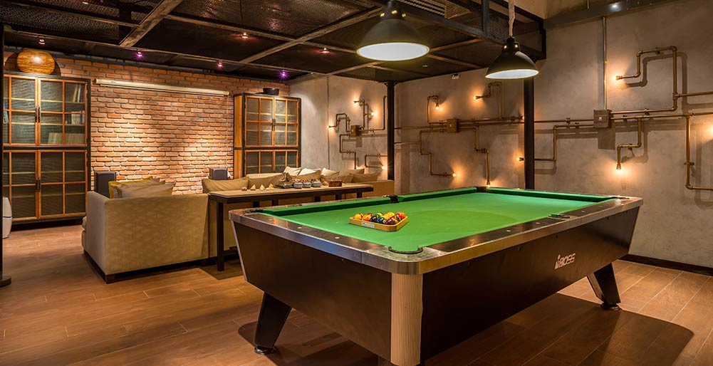 Jivana Villas - Pool table