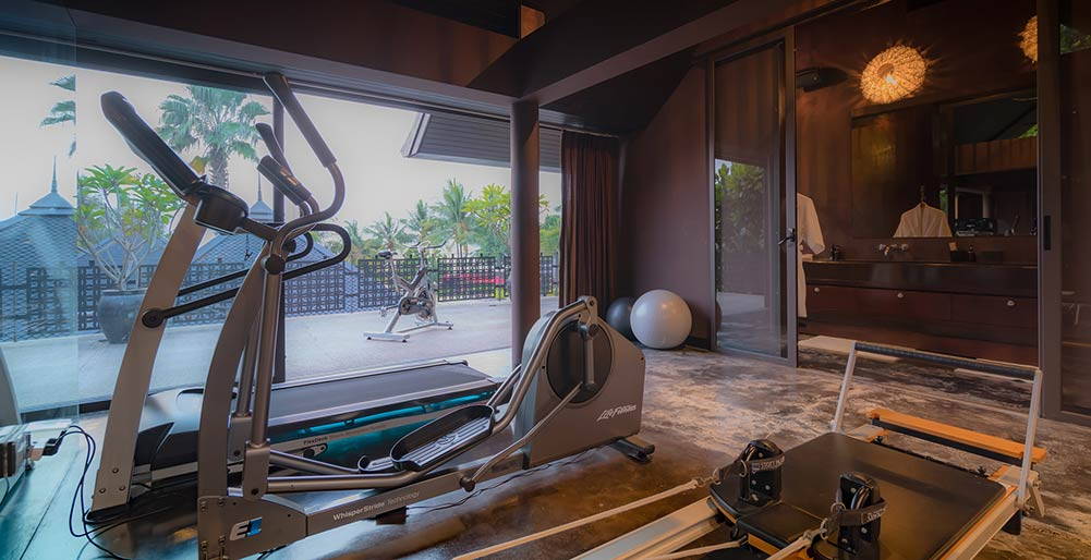 Villa Saanti - Gym equipments