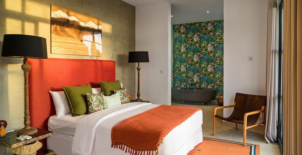 Villa Boa At Canggu Beachside Villas   Contemporary Master Bedroom Design