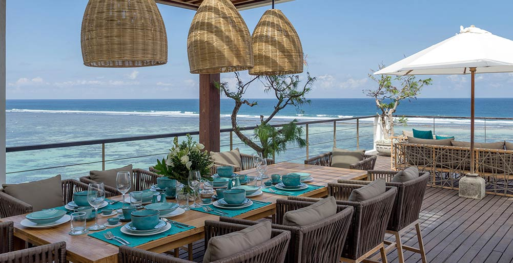 Grand Cliff Nusa Dua -  Georgeous dining area