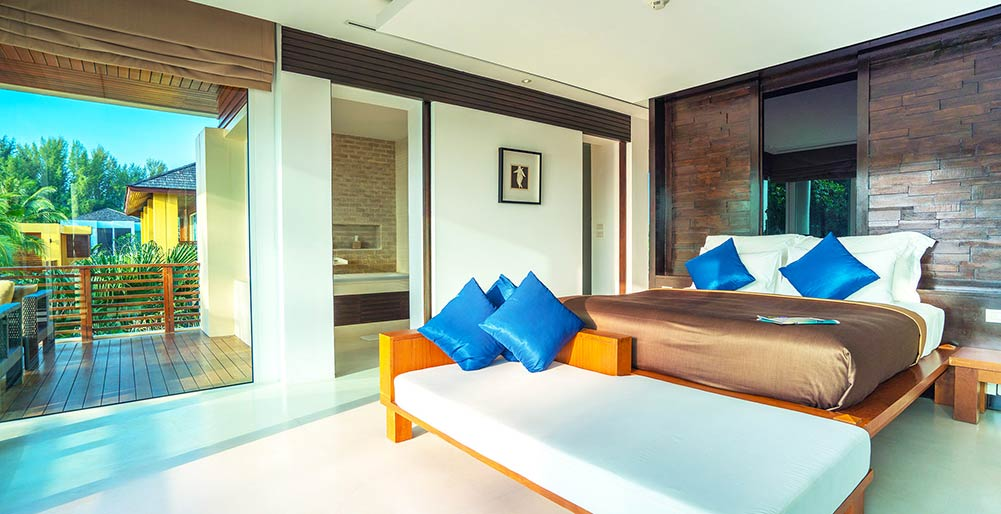 Villa Yaringa - Spacious guest bedroom three