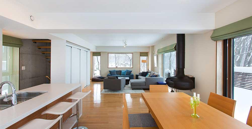 Kita Kitsune Chalet - Stylish interior