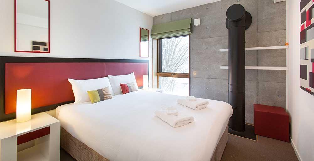 Kita Kitsune Chalet - Comfortable guest bedroom