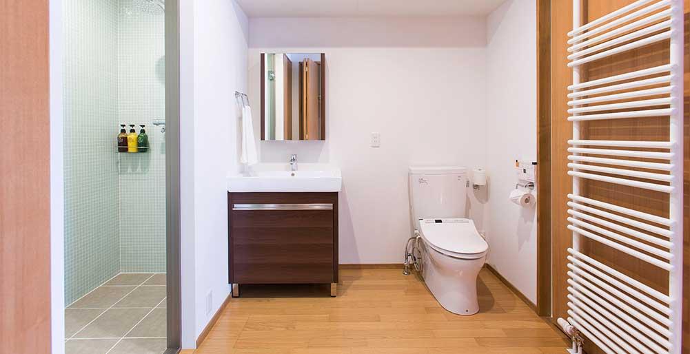 Kita Kitsune Chalet - Bathroom design